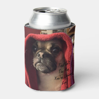 This Isn't The Pug You're Looking For Can Cooler