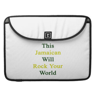 This Jamaican Will Rock Your World Sleeve For MacBook Pro