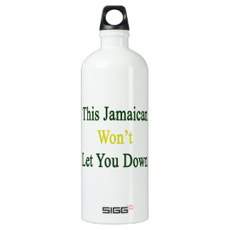 This Jamaican Won't Let You Down SIGG Traveler 1.0L Water Bottle