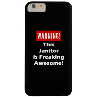 This Janitor is Freaking Awesome! Barely There iPhone 6 Plus Case