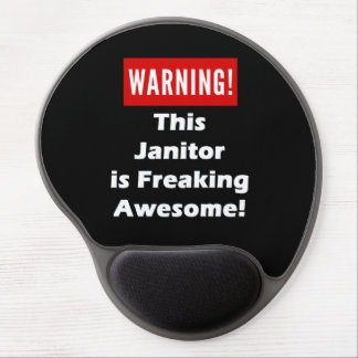 This Janitor is Freaking Awesome! Gel Mouse Pad