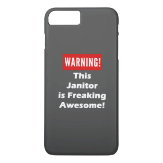 This Janitor is Freaking Awesome! iPhone 8 Plus/7 Plus Case