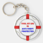 This Jet Ski is Anti Theft Protected Key Chain