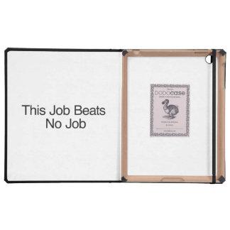 This Job Beats No Job Cover For iPad