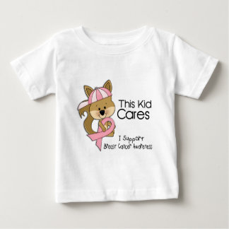This Kid Cares Breast Cancer Awareness Baby T-Shirt