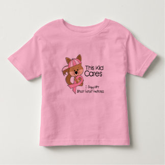 This Kid Cares Breast Cancer Awareness Toddler T-shirt