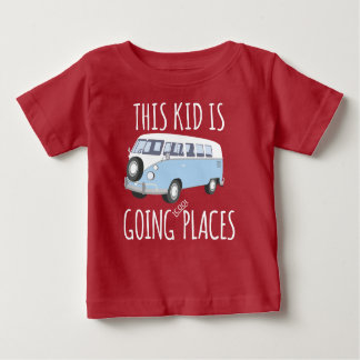This Kid Is Going Cool Places Baby T-Shirt
