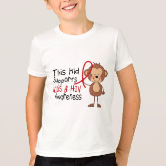 This Kid Supports AIDS Awareness T-Shirt