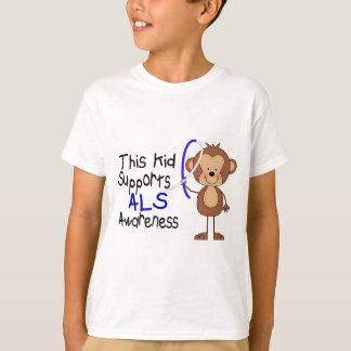 This Kid Supports ALS Awareness T-Shirt