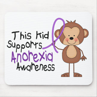 This Kid Supports Anorexia Awareness Mouse Pad
