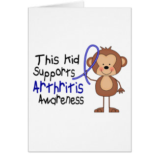 This Kid Supports Arthritis Awareness Card