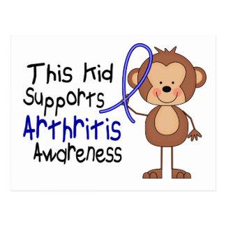 This Kid Supports Arthritis Awareness Postcard
