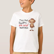 This Kid Supports Bone Cancer Awareness T-Shirt