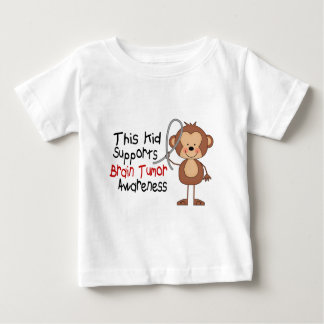 This Kid Supports Brain Tumor Awareness Baby T-Shirt