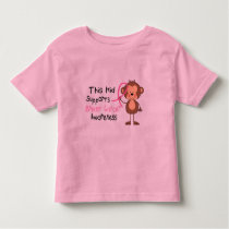 This Kid Supports Breast Cancer Awareness Toddler T-shirt