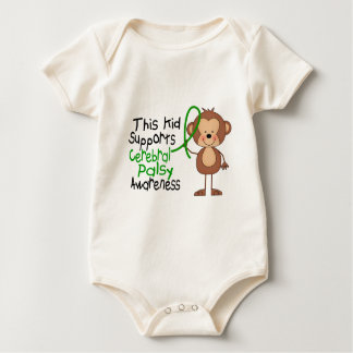 This Kid Supports Cerebral Palsy Awareness Baby Bodysuit