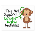 This Kid Supports Cerebral Palsy Awareness Postcard