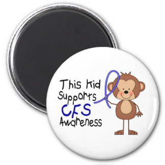 This Kid Supports CFS Awareness Refrigerator Magnet