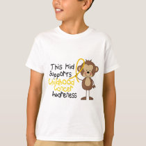 This Kid Supports Childhood Cancer Awareness T-Shirt