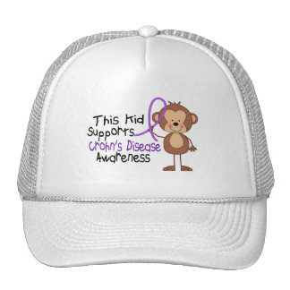 This Kid Supports Crohns Disease Awareness Hat