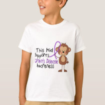 This Kid Supports Crohns Disease Awareness T-Shirt