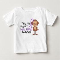 This Kid Supports Cystic Fibrosis Awareness Baby T-Shirt