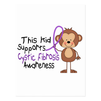 This Kid Supports Cystic Fibrosis Awareness Postcard