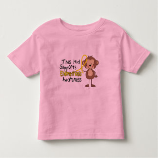 This Kid Supports Endometriosis Awareness Toddler T-shirt
