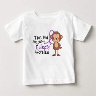 This Kid Supports Epilepsy Awareness Baby T-Shirt