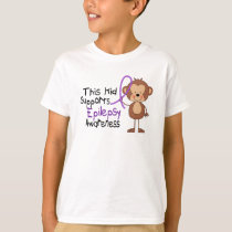 This Kid Supports Epilepsy Awareness T-Shirt
