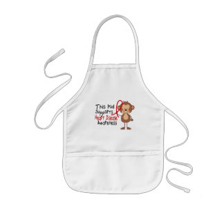 This Kid Supports Heart Disease Awareness Kids' Apron
