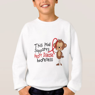 This Kid Supports Heart Disease Awareness Sweatshirt