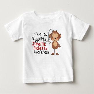 This Kid Supports Juvenile Diabetes Awareness Baby T-Shirt