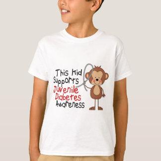 This Kid Supports Juvenile Diabetes Awareness T-Shirt