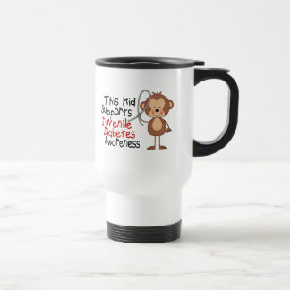 This Kid Supports Juvenile Diabetes Awareness Travel Mug