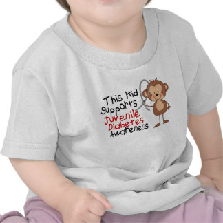 This Kid Supports Juvenile Diabetes Awareness Tee Shirts