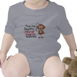 This Kid Supports Juvenile Diabetes Awareness Tee Shirt
