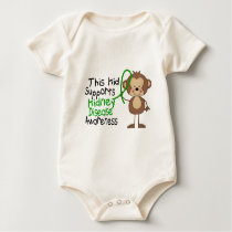 This Kid Supports Kidney Disease Awareness Baby Bodysuit