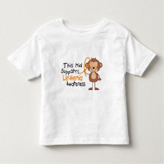 This Kid Supports Leukemia Awareness Toddler T-shirt