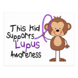 This Kid Supports Lupus Awareness Postcard