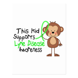 This Kid Supports Lyme Disease Awareness Postcard