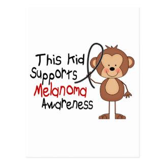This Kid Supports Melanoma Awareness Postcard
