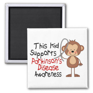 This Kid Supports Parkinsons Disease Awareness Magnet