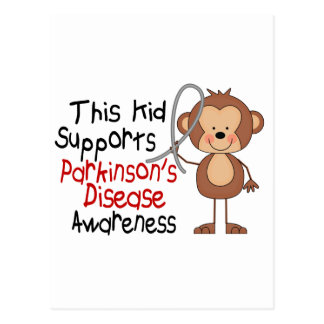 This Kid Supports Parkinsons Disease Awareness Post Cards