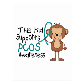 This Kid Supports PCOS Awareness Post Cards