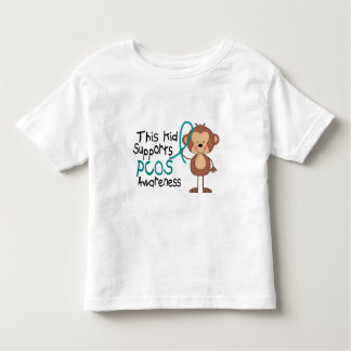 This Kid Supports PCOS Awareness Toddler T-shirt