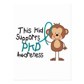 This Kid Supports PKD Awareness Postcard