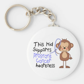 This Kid Supports Prostate Cancer Awareness Keychain
