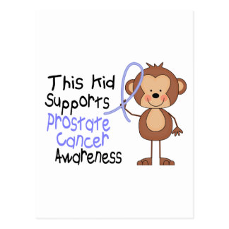 This Kid Supports Prostate Cancer Awareness Postcard