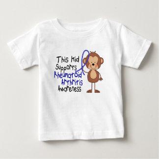 This Kid Supports Rheumatoid Arthritis Awareness Baby T-Shirt
